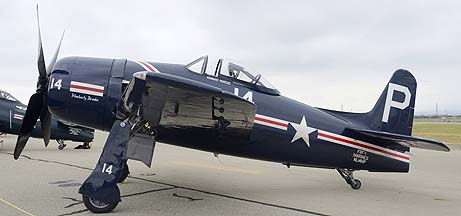 Grumman F8F-1 Bearcat NL14HP, May 14, 2011